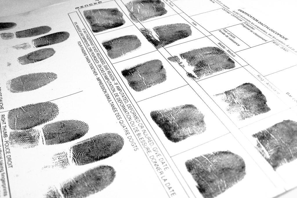 Criminal Fingerprinting